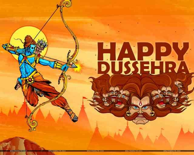 Vijayadasami also known as Dussehra or Ayudhapuja, is an important Hindu festival celebrated in a variety of ways in India. Tarang global wishing everyone happy vijayadashmi and may all your tensions burn with effigy ravana. do visit us at  - by Tarang Global School Of Performing Arts, New Delhi