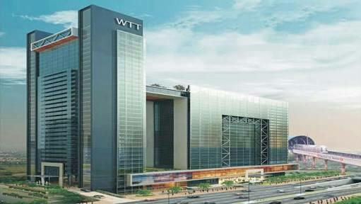Commercial Office Space for Lease in WTT Noida Sector 16 Noida very near to South Delhi , East Delhi and Center Delhi   and very well connected to Delhi NCR by Roads and Metro   next to Sector 16 Metro station and DND Road