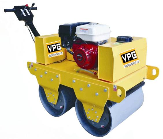 Walk Behind Roller in Bangalore  VPG buildwell offers Walk Behind Rollers, Vibratory Road Roller. These rollers can be used in tight spaces and levelling uneven surfaces. They are also called mini Tandem Rollers. Cost effective, easy manoeuvrability and good compaction.  www.vpg.in 9865210000 9843310000 sales@vpg.in