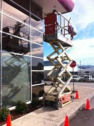 Scissor Lifts for Rent  Scissor Lifts give  you a very sturdy platform to work from, surrounded by railings so there's no chance of falling off