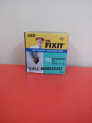 Dr. Fixit Fevimate TG is a fine powder consisting of portland cement, specially selected polymer, properly selected & graded fine fillers, additives and inorganic chemicals.   Dr Fixit Price for Dr Fixit Fevimate TG is Rs.33/- each pack.   Dr Fixit Products available for bulk supply also.   Dr Fixit Price with discount can be availed for bulk purchase.