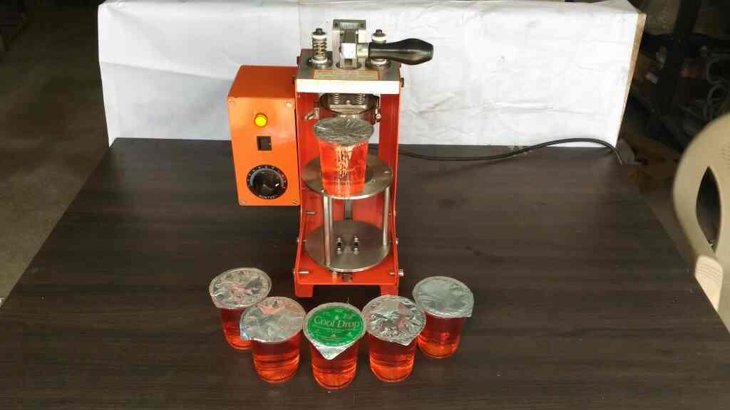 Hot Foils Sealing machine. Vijayawada, Guntur, Vishakapatnam, Karimnagar, Nizamabad, Hyderabad. - by SMS ENTERPRISES, Hyderabad