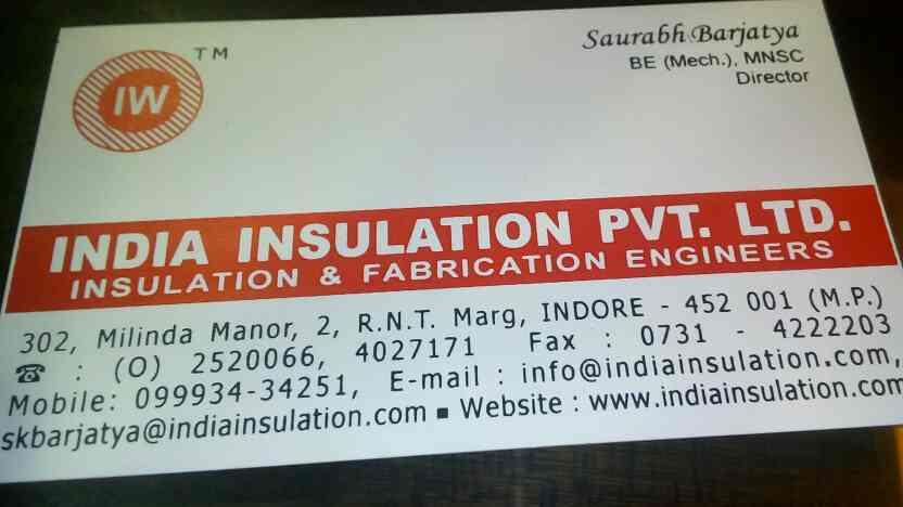 India insulation pvt ltd