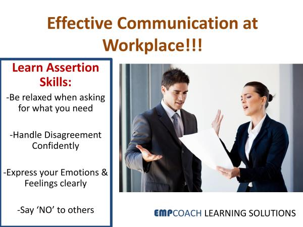 Want to improve Communication Skills of your employees? call  Empcoach today for the Best Communication Effectiveness Training Workshops!!! - by EMPCOACH LEARNING SOLUTIONS, Bengaluru