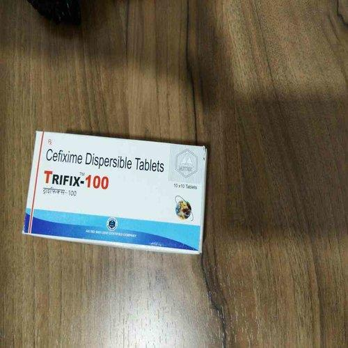 We are the Manufacturer and Suppplier of Cefixime Dispersible  TRIFIX 100 Tablets in Ahmedabad, Gujarat, India
