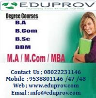 BCA Fast Track Admission In Bangalore  Eduprov provide Fast Track Degree Courses In Bangalore   For More Details Contact Us  - by Edu Prov, Bangalore