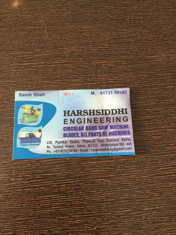 Harshsiddhi Engineering is Leading Manufacturer of Metal Cutting Bandshaw Machine in Ahmedabad
