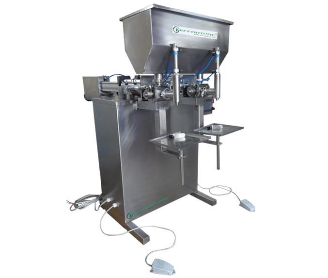 Two Head Liquid Filling Machine In Coimbatore.  This Machine Filling For All Types liquids, Using jam, ghee, edible oils packing, Fully made SS304 Construction, integrated Plc based controls, accurate volume metric filling system, user friendly pneumatic operation.  Ghee Filling Machine Rice Butter Filling Machine Jam Filling Machine Oil Filling Machine