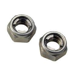 Self Locking Nuts  ur organization is trademark provider of Self Locking Nuts (Mild Steel Nuts) to our clients. Offered products are acclaimed for their sturdy dimensions and are also referred to as nylon insert lock nut. These are made ava - by Sree Dsg Wire Products, Hyderabad