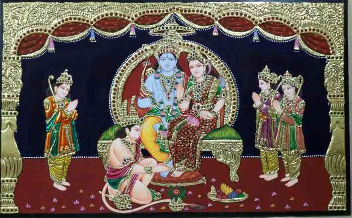 tanjore painting classes in Hyderabad  tanjore painting for sale in hyderabad  tanjore painting images  tanjore paintings new work  tanjore paintings  tanjore paintings hobby classes in hyderabad  tanjore painting teaching classes in hydera - by Shantha Painting Institution, Hyderabad