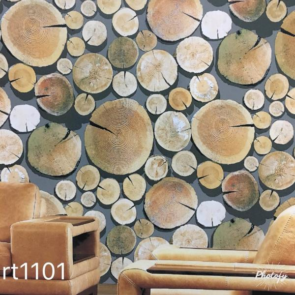 A wooden wall design in Delhi.   Circle Wooden design for your drawing room.   A design from Perfect World Wallpaper.  Supplier of Imported wallpaper.  To buy call us Wallparadise- Perfect World wallpaper in Pitampura New Delhi.
