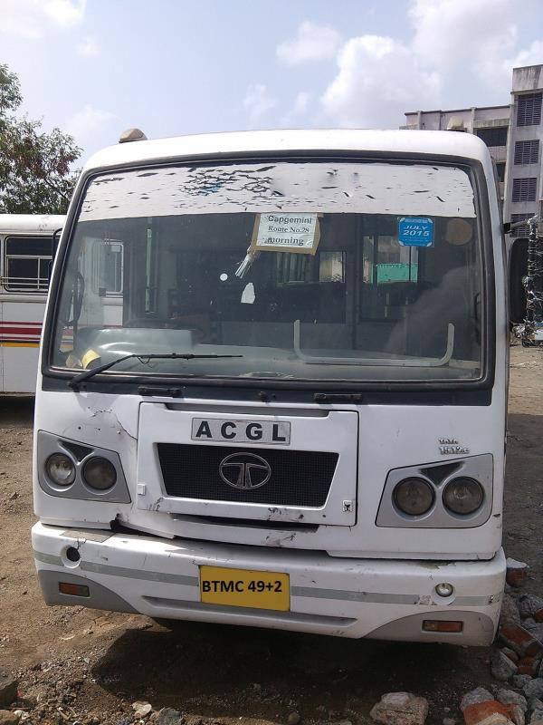Make-Model : TATA-2011 Owner : First Owner Sitting capacity : 49+1 Tyre Condition : Good Registration Place : PUNE Registration Date : 2/2011 Body Type : ACGL Vehicle No : BTMC 49+2 Expected price : 1100000 Km Run : 175000 Euroversion : BS  - by Bus Truck Market, Pune