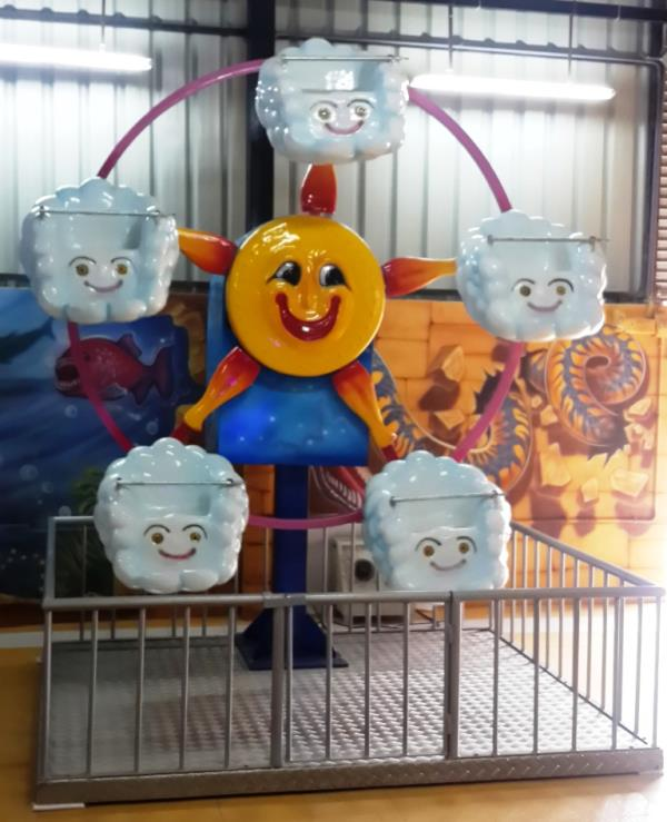 Sun N Cloud  Super Amusement Games we are offering high quality of Sun N Cloud Ride to our customers - by SUPER AMUSEMENT GAMES, Ahmedabad