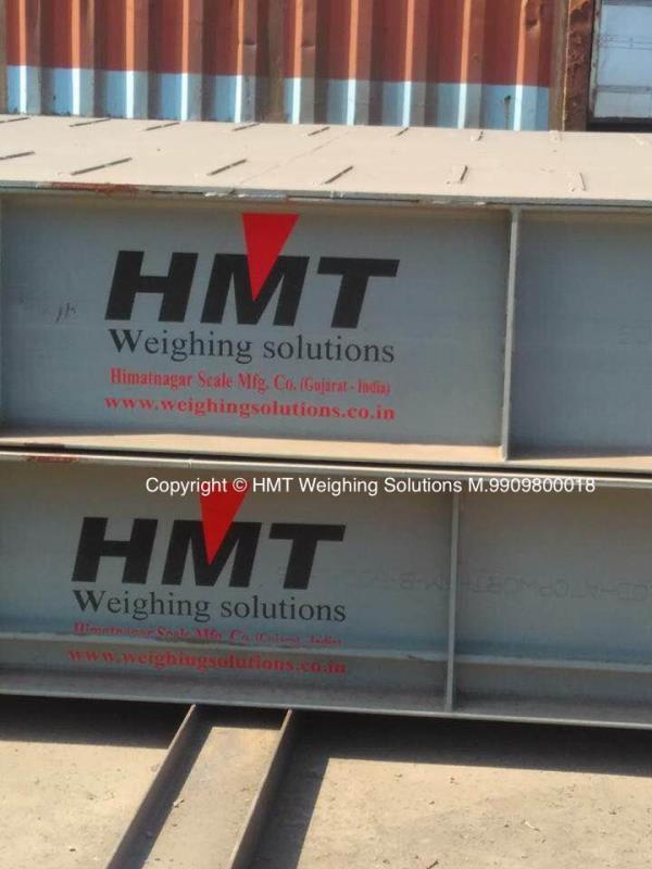 Tough Deck Fully electronics HMT Weighbridge.