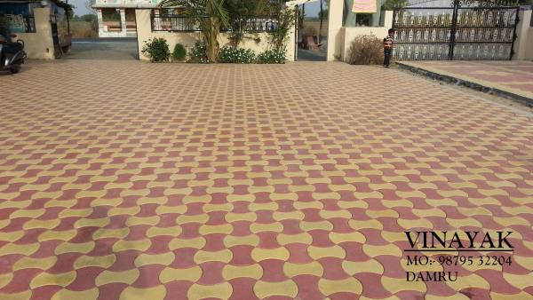Our manufacturind and supply of reflecitve paver block Damroo Design. from ahmedabad.  our offer is widely demanded amongst the clients for their durability and sturdiness.these products are made accordingly as per the requirements of the clients. Our supply and manufacturer of reflective paver block from gandhinagar. we also supplier of reflective paver block from bhavanagar, Gujarat , India.   Thickness : 60 mm Design : Damroo Colour : Your Requirement   reflective paver block in bhavnagar  reflective paver block in ahmedabad  reflective paver block in kutch  reflective paver block in gandhinagar   For, more details  call  98795 32204