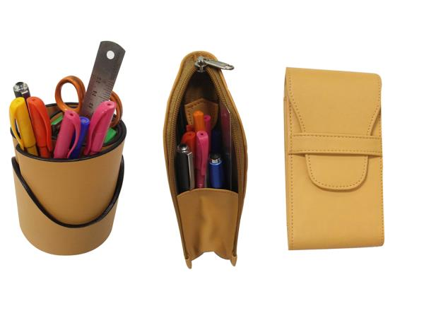 Essart TS-21-Yellow By Essart India ( Three in One  Set ) Essart 3 in one Desk Set (Pen Tumbler , Pencil Case & Pencase for 3pens)-Yellow Essart 3 in one Desk Set One Pen Tumbler , one Pencil Case & one Pencase for 3pens. http://www.amazon. - by Essart India, New Delhi