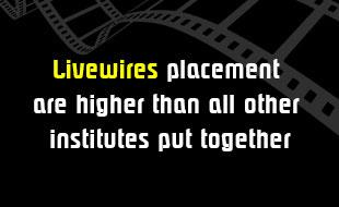 LIVEWIRES PLACEMENTS ARE HIGHER THAN ALL OTHER INSTITUTE.. You can Count on Us The media industry is indeed growing at a very fast rate. As a result there is a constant need of professionals who have expertise in various fields. But the ind - by Livewires North Delhi, New Delhi