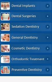 Dental Procedures available: Dental Implants, including sinus lift, bone expansion and bone grafting (regenerative procedures). Dental surgeries, including de-impactions, cyst removal and others. Sedation Dentistry. General Dentistry, including tooth colored restorations, Root canal therapy, Oral Prophylaxis and others. Cosmetic Dentistry, including Veneers, Crown & Bridge, Smile Designing and Full-mouth rehabilitation.