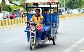 Battery operated E-Rickshaw & E-Loder available in Vadodara Gujarat  also supply in all over Gujarat State   - by Siddharth Agency, Vadodara