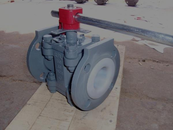 """PFA/FEP Lined Plug Valve   1.Valves up to 4"""" by Investment Castings as per class 150#, 300#  2.6"""", 8"""" made out of Sand or Shell Castings  3.Superior Finish and Longer Life of Valve body  4.Bi-directional & Multi directional Flow availab - by RASAII FLOW LINES PRIVATE LIMITED, Chennai"""