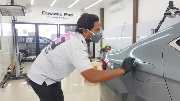 ceramicpro9H  Nanoceramics  coating skoda superb in chennai  Nanotechnology as a lifestyle  super glossy superhydrophobic