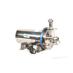 Creative engineers are manufacturers, exporter and supplier of Sanitary Pump CFS Dairy Union from Delhi, India. Sanitary Pump CFS Dairy Union is used for transfer all type of dairy products like milk, cream, buttermilk etc from Delhi, India . available in Motor HP :- 0.25 hp to 30 hp, Head :- 04 meters to 80 meters, Capacity :- 04 lpm to 2000 lpm