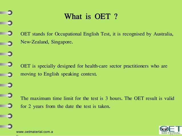 The OET coaching in Vastrapur, Ahmedabad with a special offer.