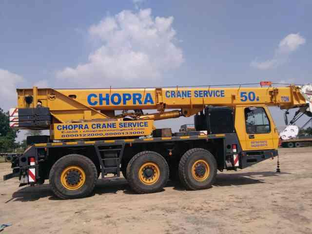 we are best service in Krupp crane hiring in all India  - by CHOPRA CRANE AHMEDABAD 9978915572, Ahmedabad
