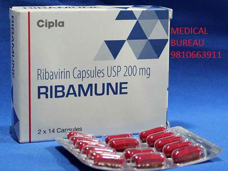 Ribamune ( Ribavirin Capsule ) Big Exporter In India Best Prices Available Contact-Medical Bureau                +91- 9810663911 - by Medical Bureau, New Delhi