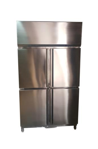 FOUR DOOR VERTICAL REFRIGERATOR  The Four Door Vertical Refrigerator is ideal for Bulk Storage of materials. Each door can be dedicated for a specific purpose. It is one of the very essential Kitchen Appliances as it provides total Cold Sto - by Radhakrishna Hospitality, Mumbai