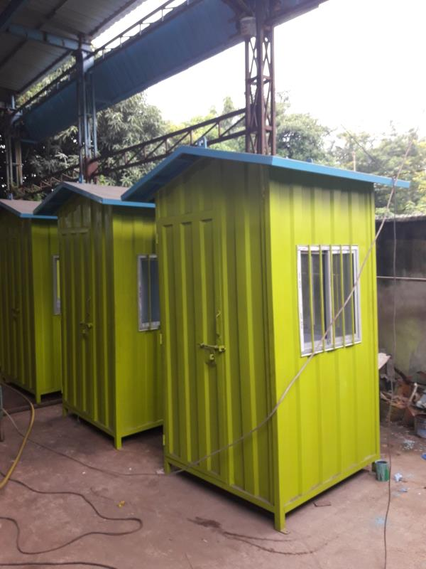 We manufactured Portacabin, Toilets, Security cabins, Traffic kiosk etc. If you have any Requirements for Portacabins, Toilets, Traffic Kiosk, Securities Kiosk, You may contact us on the following Numbers S.Gangopadhay- 9830038833 S.Purkait - by Towa Chemical Solutions Pvt. Ltd., Kolkata