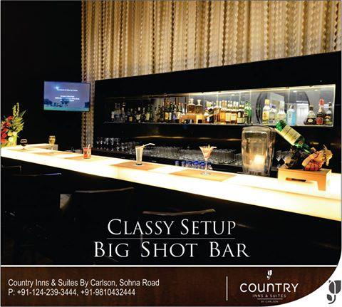 As the #weekend sets in time to #unwind and relax is here , come over to #bigshot here at #countryinnsuites, #sohnaroad #gurgaon. For more details please click here: http://bit.ly/25ppGuf  - by Country Inn & Suites By Carlson, Gurgaon Sohna Road, Gurgaon