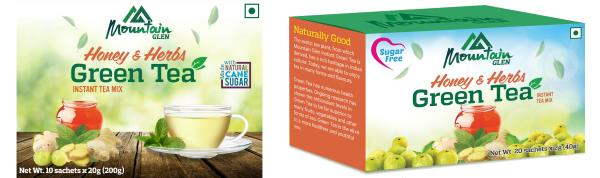 Enjoy Mountain Glen Green Tea this Monsoon and Winter Season!  If you're looking to enjoy a soothing hot drink this monsoon and winter season, look for Mountain Glen Honey & Herbs Instant Green Tea. If you're facing a cold and cough, or fee - by Mountain Glen, Coimbatore