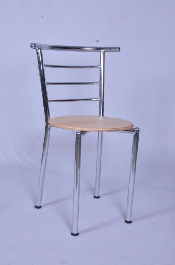 Restaurant chair is Crome, SS wooden finish good quality Crome warranty with one 1 year made in India . Cafe chairs in bangalore