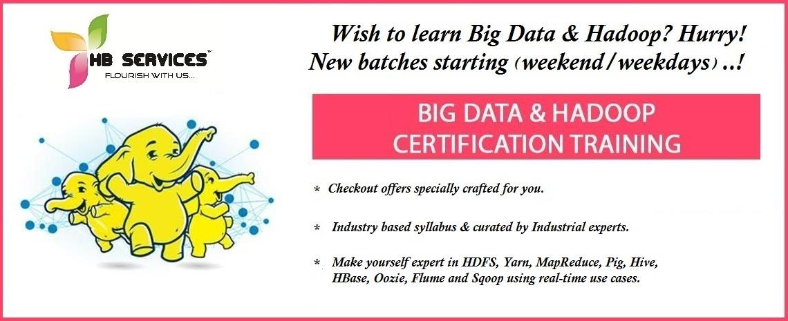 Hadoop Training Institute In Chennai  We are one of the Best Hadoop Training Institute In Chennai.We are located in Adyar & Velachery. We offer all IT certification courses at low cost.The course curriculum is in line with industry requirem - by HB Education & Consulting Services (P) Ltd Call Us @ 9884987719, Chennai