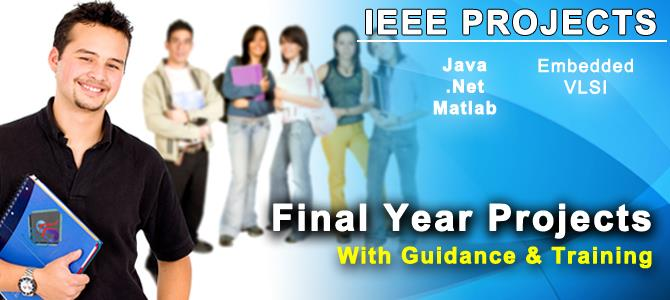 Final Year Project Centers In Madurai
