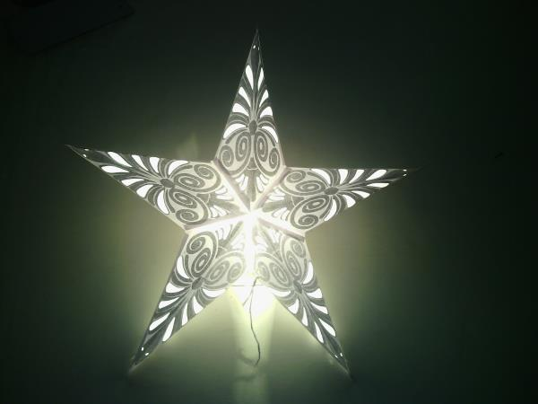 Hand made Papaer Star Lanterns - by Star Shoppe, Delhi