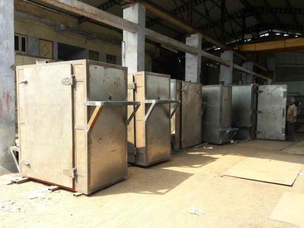 Leading Manufacturer of Tray Dryer For cashew Drying    - by Ambesh Fabricators, Ahmedabad