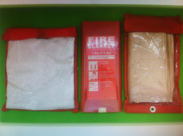 Fire blanket manufacture in Delhi  We are one of the pioneer engaged manufacturer and supplier of the best quality of safety products in India like gloves , safety blanket , pu coated gloves  - by INSTAGYAN@7836865904, New Delhi