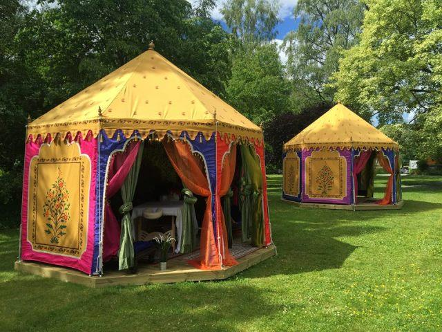 Arabian Nights Theme Tent  Our Best Seller Tent is the Royal Arabian Tent. It is a Round Tent erected on free standing frame, also known as The Dewaan E Khaas Tent. Find more Luxury Tents Pictures at https://goo.gl/x5z9Nl