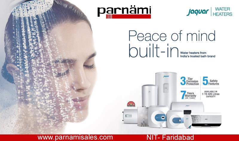 """Jaquar Water Heaters at Parnami Sales Corporation, Faridabad  Get the leisure of """"hot water bathing"""" this freezing Winter with """"Jaquar Water Heaters""""  Visit at: Parnami Sales Corporation,  Showroom 4 & 5, New Tikona Park,  NIT-1, Faridabad, - by Parnami Sales Corporation, Faridabad"""