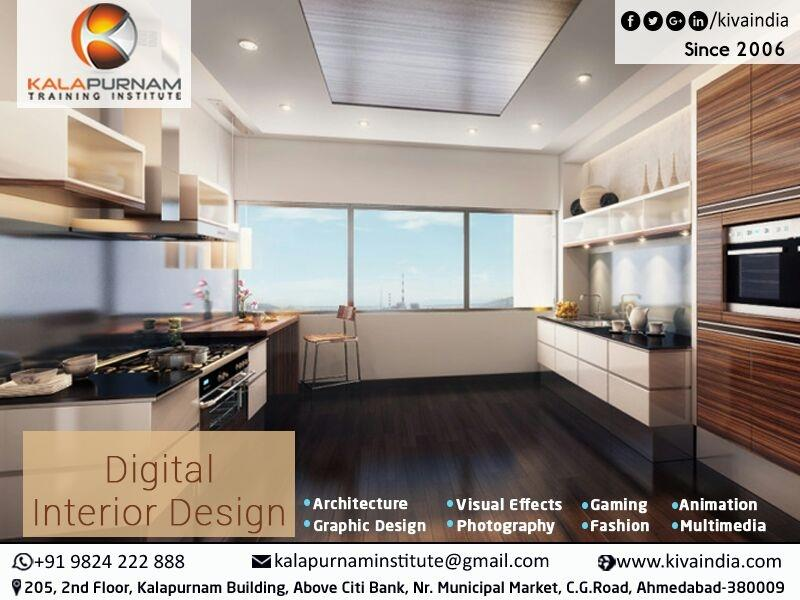 Interior Design Course In Ahmedabad  We offer students the opportunity to be trained in the art of interior designing. We aim to train students and professionals with technical, artistic, historical and sociological knowledge. The critical mind of student would be reinforced with creative and analytical skills that would help them to create perfect platform for interior designing.