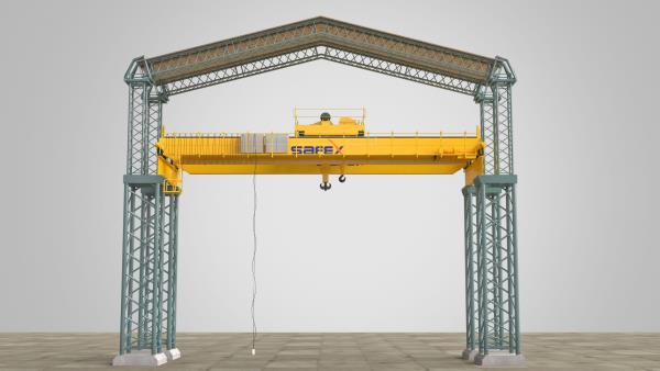 Safex Cranes is the one of the Leading Manufacturer, supplier and exporter of 8 Wheel Double Girder EOT Cranes in Saudi Arabia