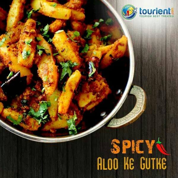 Aloo Ke Gutke is spicy street food which one can avail on streets of #Uttarakhand. Don't miss to enjoy this street food during your visit. Book your trip to #Uttarakhand with us - www.tourient.com  #FoodTravel #StreetFood - by Tourient Travel Services | Toll Free: 1800 2700 484 | Best Tour Packages, Surat
