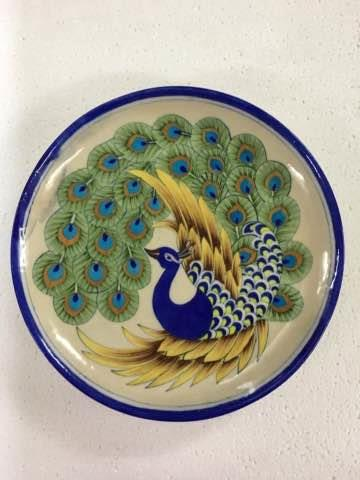 Diwali Gifting..... Hand painted Wall Decor ceramic plates... Gift differently this Diwali.
