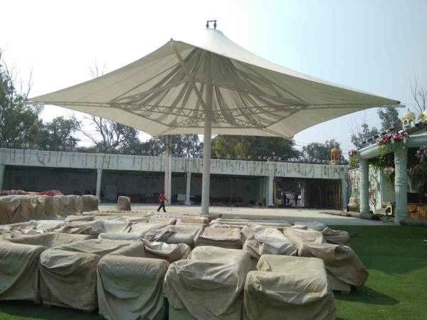Tensile Umbrella Structure in Delhi  Tensile Umbrella Structure.we have to use it Banquets  , Hotell, Mall .Parking Arya, Many Places .Farm house.,   more info.Naw Login to www.globaltensilestructure.com