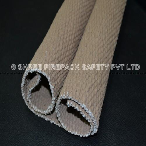 "Vermiculite coated ceramic cloth from shree firepack safety pvt ltd. High temperature resistant fabrics insert from ""E"