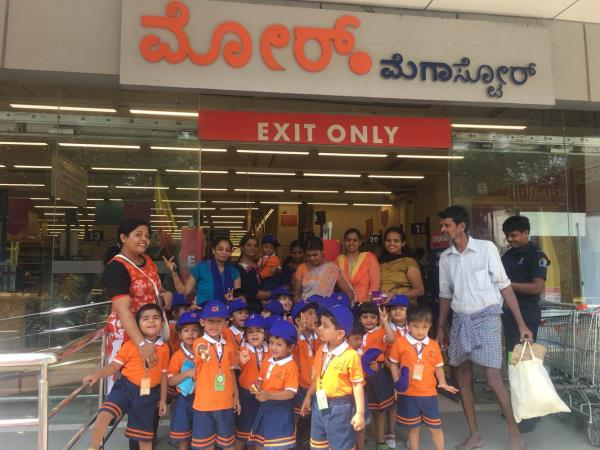 Field Trip to Vegetables n Fruits Market for our little Oitians - by Oi Play School, Bengaluru