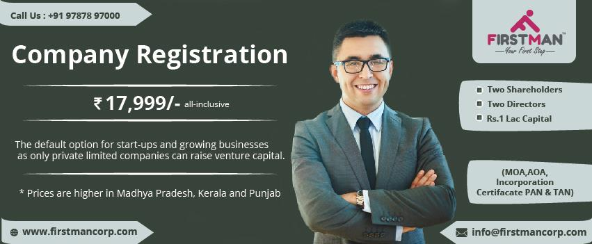 Company Registration in Chennai  For Further Details www.firstmancorp.com