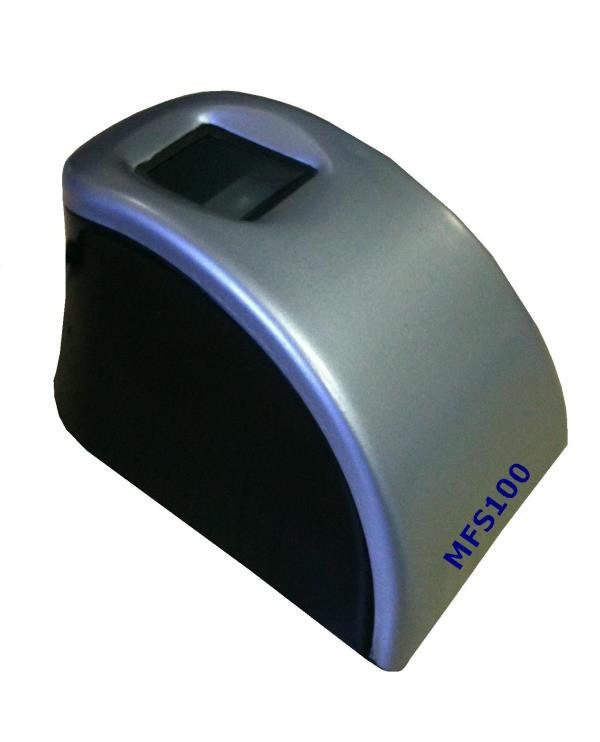 Fingerprint Scanner  Fingerprint Scanner MFS100 MFS 100- Fingerprint Scanner MFS 100 fingerprint reader  MFS 100 USB fingerprint reader  MFS100 STQC certified scanner  MFS-100 is high quality USB fingerprint sensor for fingerprint authentic - by Warden Security Systems, Bangalore
